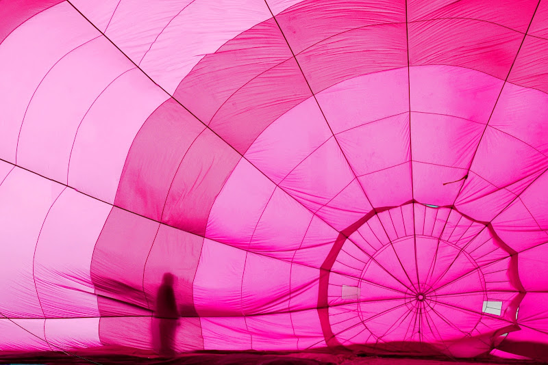 Pink balloon di Justinawind