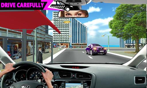 New York Taxi Duty Driver: Pink Taxi Games 2018 5.0 screenshots 7
