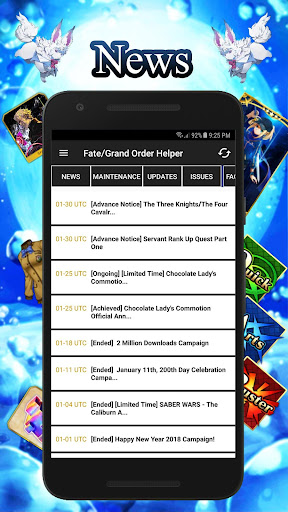 FGO Helper - Unofficial tool for Fate/Grand Order 1.8.4 screenshots 1