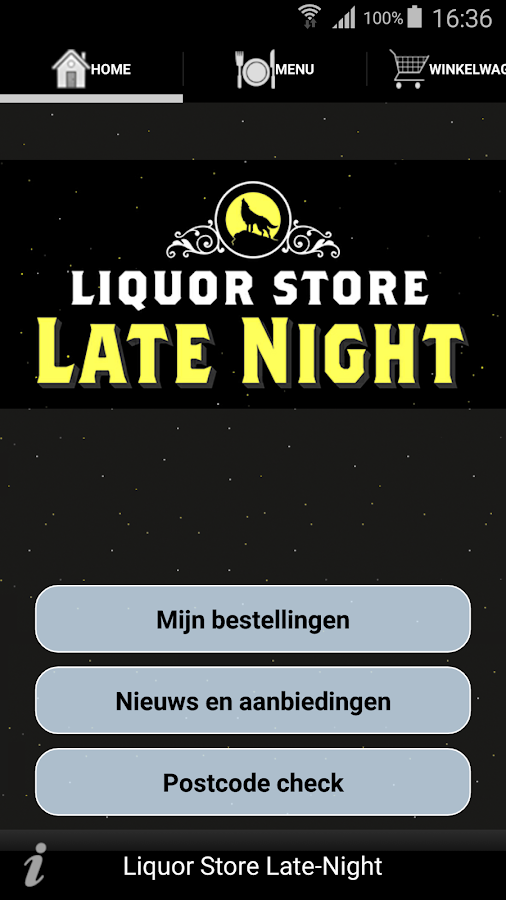 Liquor Store Late-Night: screenshot