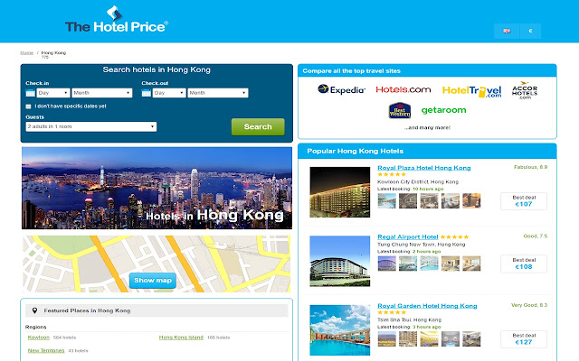 Best Hotel Deals in Hong Kong - Hotel Finder