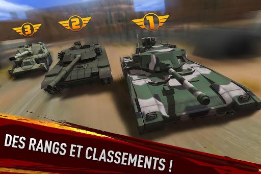 War of Tanks: PvP Blitz  captures d'écran 4