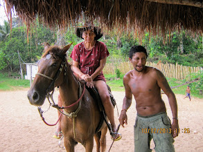 Photo: Cowboy and Amazona