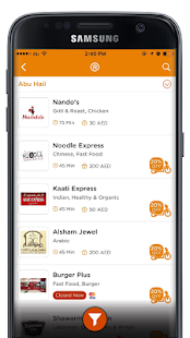 RoundMenu Restaurants Delivery- screenshot thumbnail