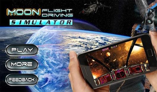 Moon Flight Driving Simulator screenshot 14