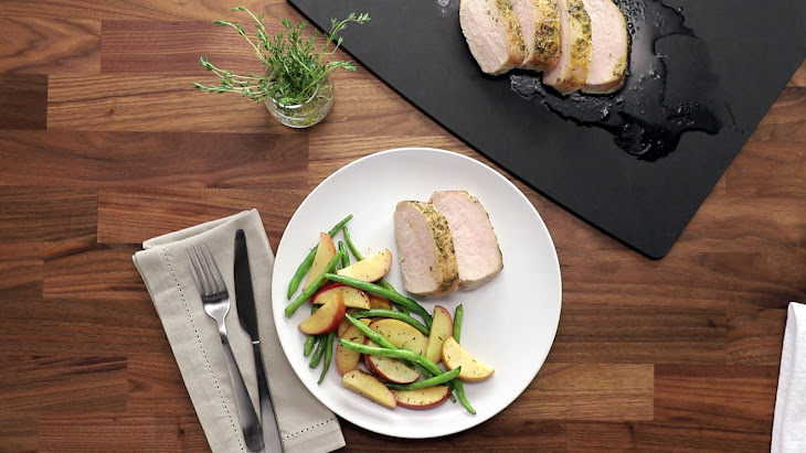 Maple-Dijon Apple Pork Loin Recipe