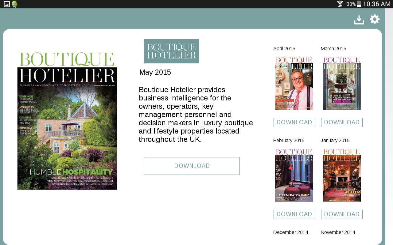 Boutique Hotelier- screenshot