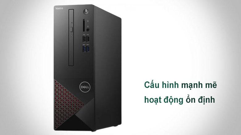 PC Dell Vostro 3681 SFF (i3 10100/4GB/256GB SSD/WL/KB+M/Win10H/1Yr) (42VT360006)   Cấu hình mạnh mẽ