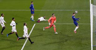 El Real Madrid se vio totalmente superado por el Chelsea.