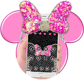 Pink Bow Minny Theme