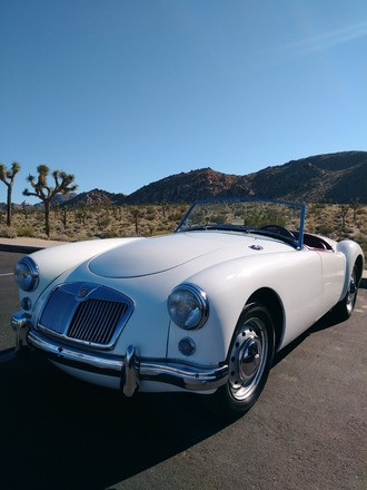 1959 MG MGA Hire California