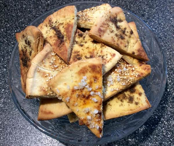Salted Naan Crisps