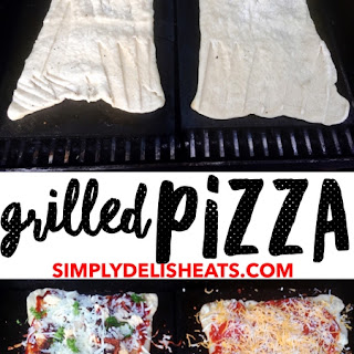 Grilled on the BBQ Pizza.