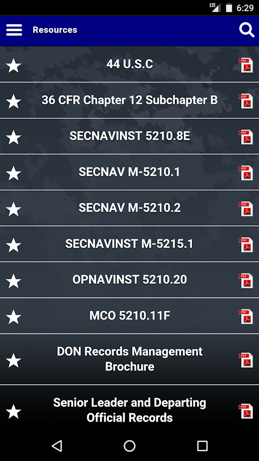 Records Management- screenshot