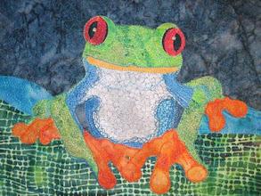 "Photo: ""Red-Eyed Tree Frog"" by Susan Brubaker Knapp www.bluemoonriver.com"