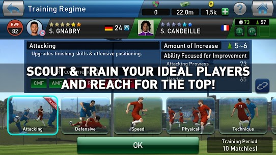 PES CLUB MANAGER MOD APK (Unlimited Money) 5