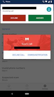 Malwarebytes Call Protection - náhled