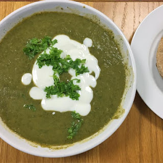 Spinach Soup Herbs Recipes