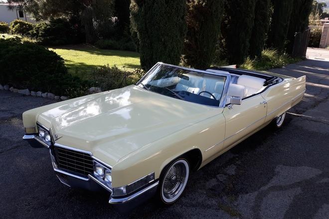 1969 Cadillac Convertible Hire CA