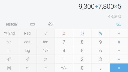 Samsung Calculator 6.0.61.5 screenshots 3