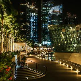 Lights.... by Happy Sugianto - City,  Street & Park  Vistas