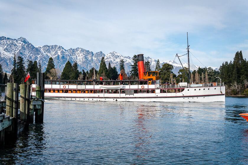 Queenstown cruise.