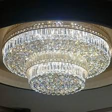Large Dazzling Crystal Chandelier Creates a Special Mood In Every Room