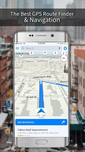 GPS, Maps, Navigations, Directions & Live Traffic 1.39.0 screenshots 8