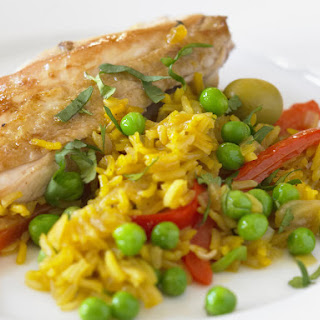 Chicken With Saffron Rice Recipes.