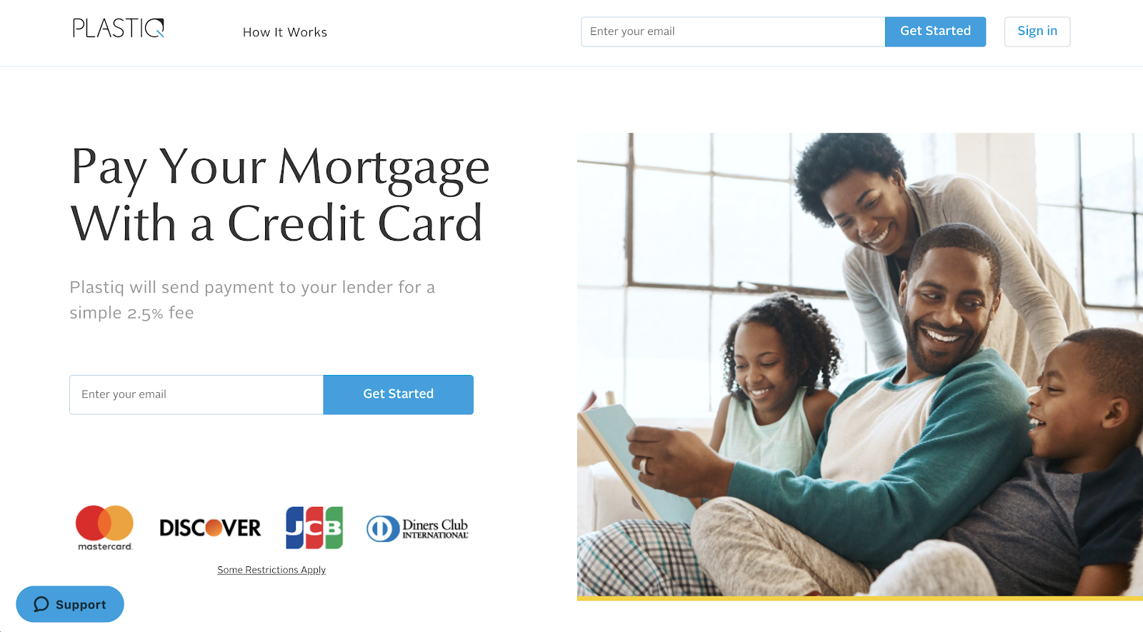 Pay Your Mortgage With a Credit Card Plastiq