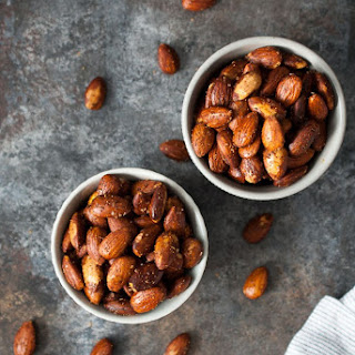 Roasted Almond Snack Recipes.