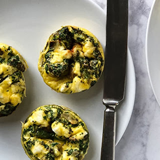 Spring Asparagus Frittata Muffins (low-carb, gluten-free).