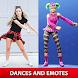 Battle Royale Dances and Emotes