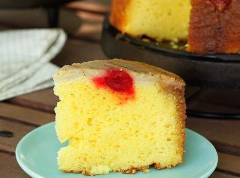 Banana Upside Down Cake Recipe