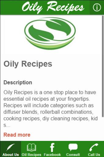 Oily Recipes