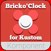 BrickoClock for Kustom KLWP