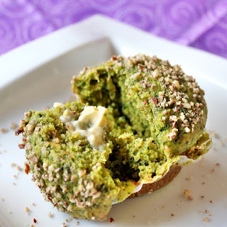 Healthy Green Muffins