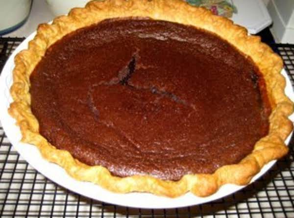 Chocolate Buttermilk Pie Recipe