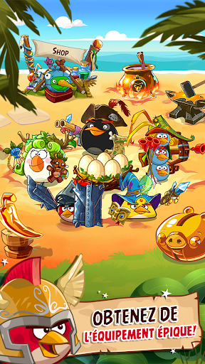 Angry Birds Epic RPG  captures d'u00e9cran 1