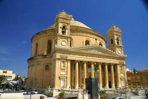 Photo Cathédrale de Mosta et son dôme