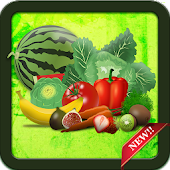 Fruit Vegetables Spelling - Spell kids games