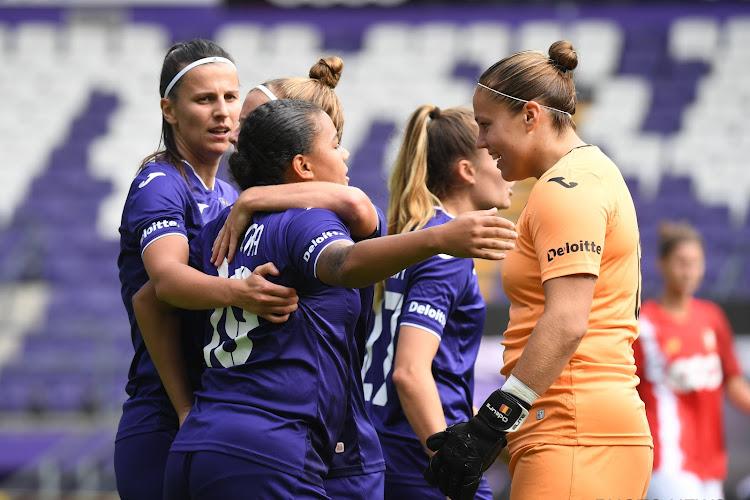 Anderlechtse vrouwen dankzij gouden wissels voorbij concurrent Standard