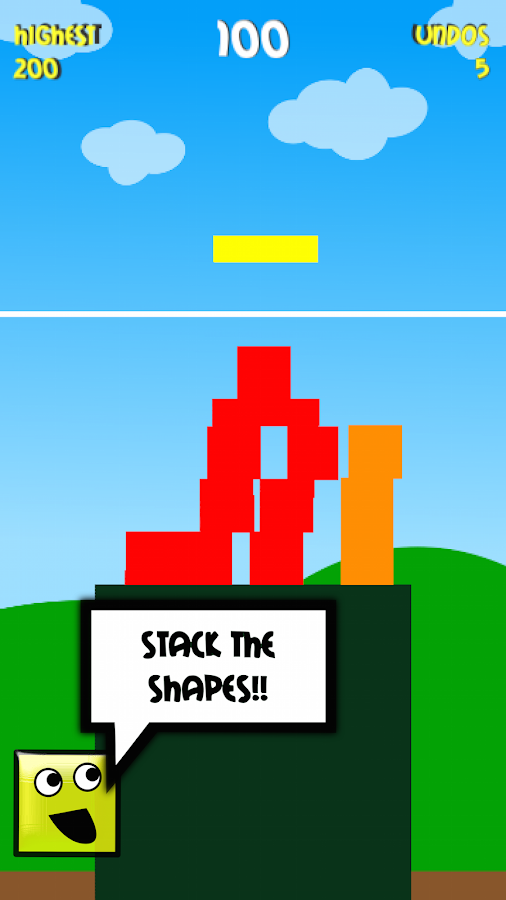 Shape Stack- screenshot