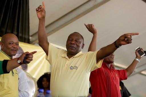 PETER BRUCE: Cyril Ramaphosa still standing as Msholozi stumbles
