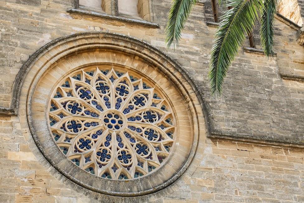 kościół św. Jakuba, rozeta