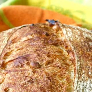 Sour Cherry, Peanut, and Barley Sourdough Bread.