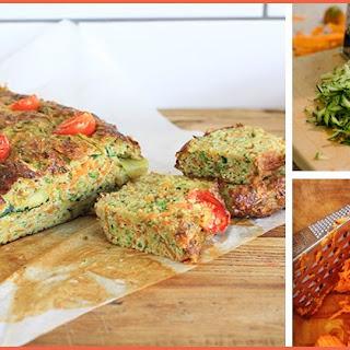 Grated Sweet Potato and Zucchini Bread Recipe For Balanced Blood Sugar.