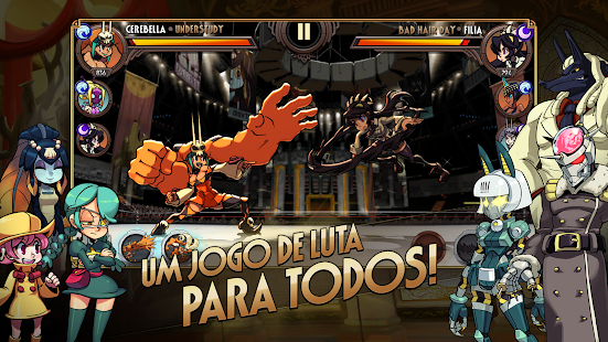 Skullgirls Android screenshot