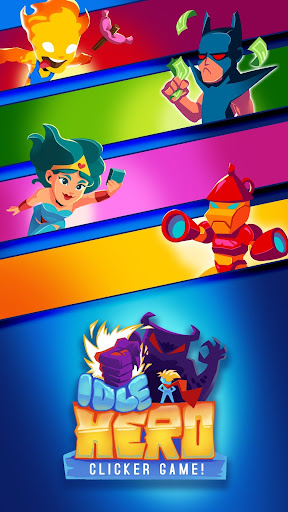 Tu00e9lu00e9charger Idle Hero Clicker Game: Jeu clicker de hu00e9ros APK MOD (Astuce) screenshots 1