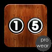 NC Puzzle 15 Pro Wear